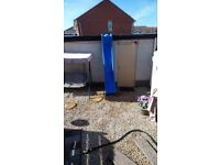 Kids chute and garden jungle gym play sets