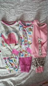 Various girls clothes age 3-4-5-6 pj's,tops,skirt