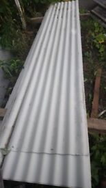 CORRUGATED ROOF SHEETS 10ft X 2ft COLOUR COATED