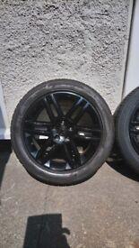 """Vauxhall vectra 17"""" Sri alloy wheels"""