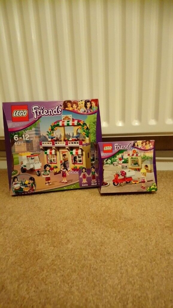 Lego Friends Heartlake Pizzeria And Stephanies Pizzeria In