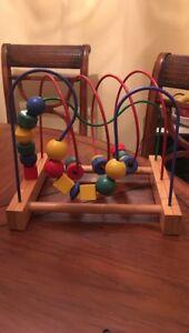 Ikea Bead Roller Coaster Wooden Beads Mula Series