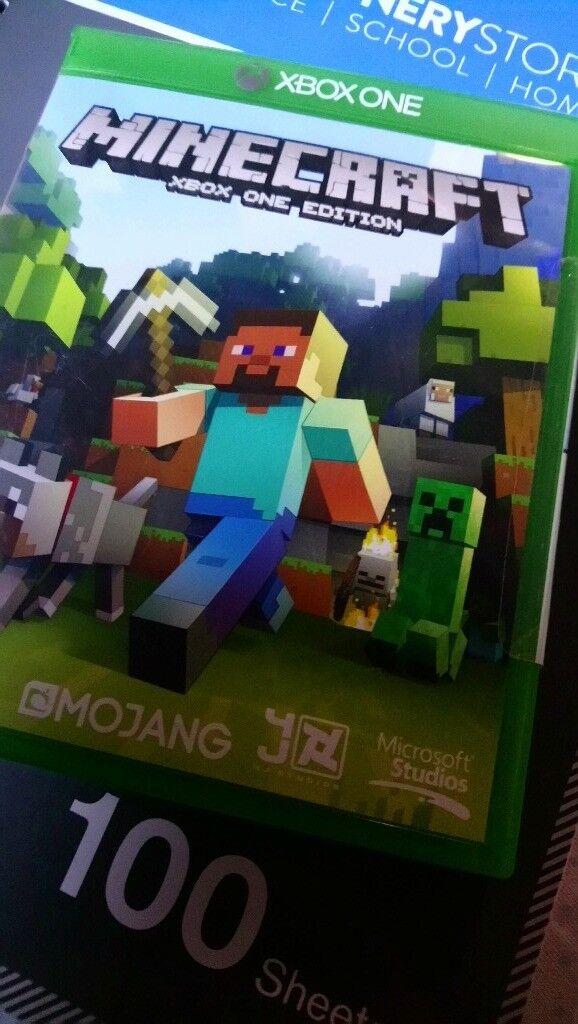 Minecraft xbox one | in Newcastle-under-Lyme, Staffordshire | Gumtree