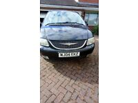 Chrysler grand voyager spare or repaire