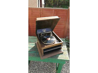 Lovely Columbia Grafonola 78rpm 1920s/30s Gramophone with 78s for sale