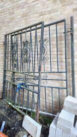 Large Wrought Iron Gates
