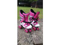 Girls Roller Skate shoes size 10-13