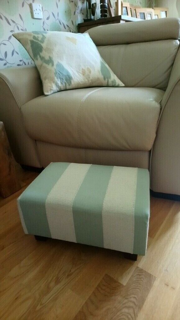 Prime Low Footstool Pastel Green And Cream Foot Stool Wooden Feet In York North Yorkshire Gumtree Beatyapartments Chair Design Images Beatyapartmentscom