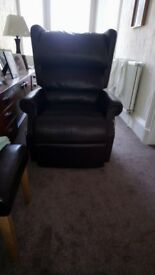 Electric recliner and easy up chair in Burnside