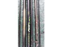 4 carp fishing rods £10 each