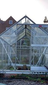 Elite Greenhouse excellent condition. Automatic vents and Self watering.. bargain!