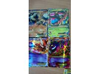 Pokemon cards -Mega EX & Raticate card