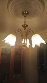 3 Bulb Suspended Celing Light