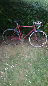 Lovely Raleigh road bike just serviced 27inch wheels in good order £60