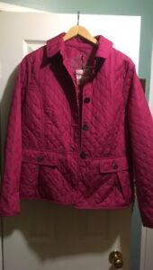 NWT Olsen Europe Quilted Jacket Size 46 XL