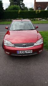 Ford Mondeo 3L Ghia X 2006 39,000 miles from new