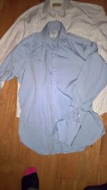 2 shirts size 15.5 TM Lewin