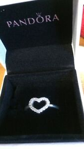 Pandora ring size 8 and a bit