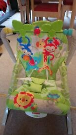 Fisher Price infant-to-toddler Rainforest rocker