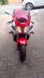 Yamaha YZF 750r selling for dad