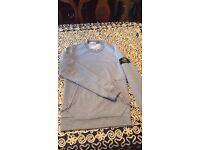 Stone Island grey sweatshirt