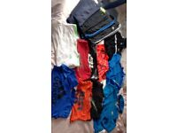 12-14 year bundle of clothes 7 t-shirts 4 jogging bottoms 2 jackets and a jumper.Nike-adidas.