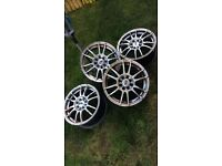 15 inch alloy wheels - wolfrace