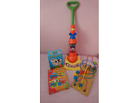 Toy bundle - MICKIE MOUSE HOOVER VACUUM + WOODEN BEAD MAZE + 2 PUZZLES £10