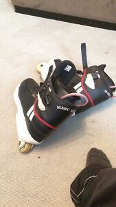 Marc Moreno pro skates black and whites