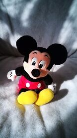 Mickey Mouse Cuddly Toy