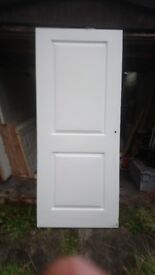 "2 x JeldWen Internal 2 panel doors (78"" x 33"")"