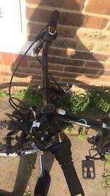 "Ecosmo 26"" Folding mountain bicycle bike"