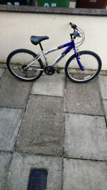 Kids/teenagers Extreme blue and silver bike lovely wee bike £35...
