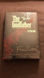 Dvd The Godfather Gift Set Coppola Restoration Supplements NEW