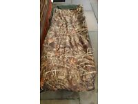 BADGER BEDCHAIR AND CAMO SLEEPING BAG RELISTED