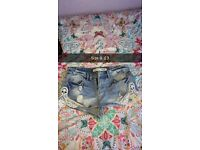 Women skirts/shorts size 6-8