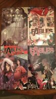 Fables Lot Of Four Books by Vertigo for $30 Like New