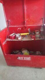 Site tool storage box