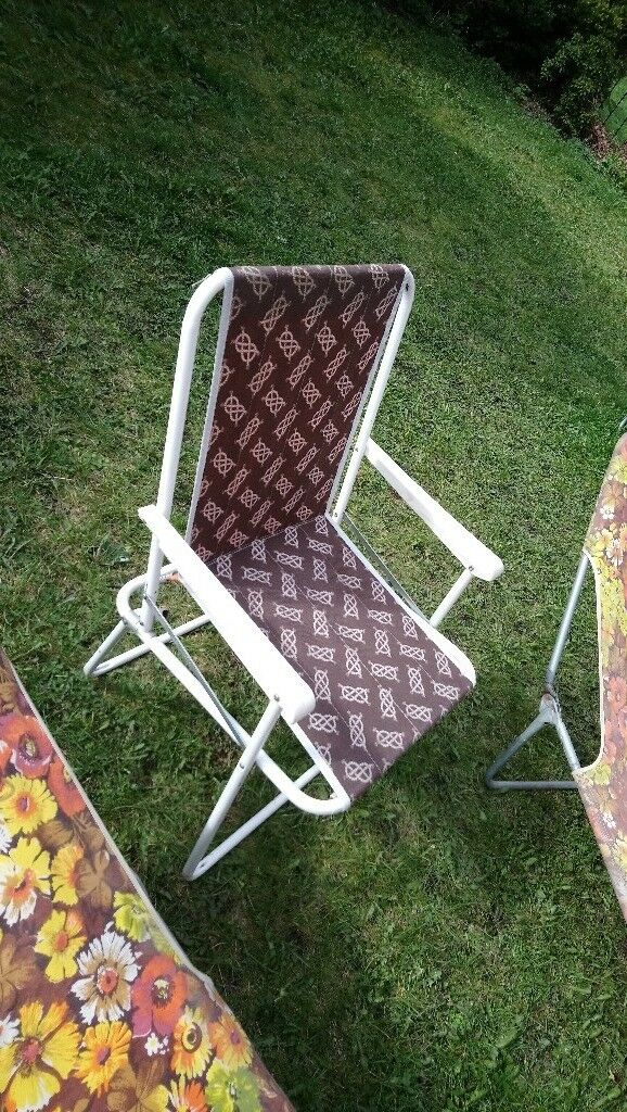 retro 70 s 80 s garden chairs and sun loungers in shandon