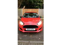 Ford Fiesta Zetec 1.0 Turbo Race Red