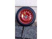 Space saver spare wheel for Hyundai i40