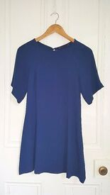 Zara royal blue dress