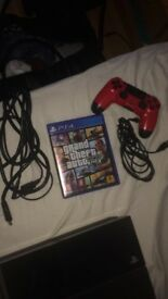 PS4 500 GO + GTA 5 + RED MANETTE for 200 £