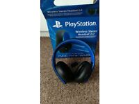 Wireless 2.0 Stereo Headset for PS4