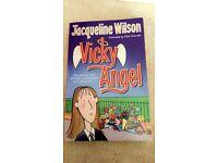 Jaqueline Wilson Book Vicky Angel