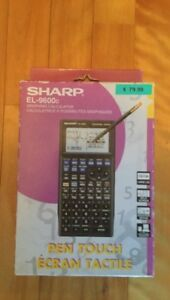 Calculatrice graphique Sharp EL-9600c