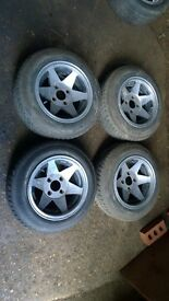 Starmags 4x108 magnesium alloy wheels Ford Escort Sierra Fiesta mk1 mk2