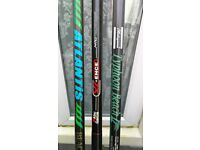 11 beachcatser fishing rods for multipliers 13 and 12 foot