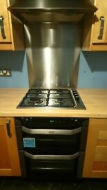 Belling Built Under double oven 13 months old excellent condition