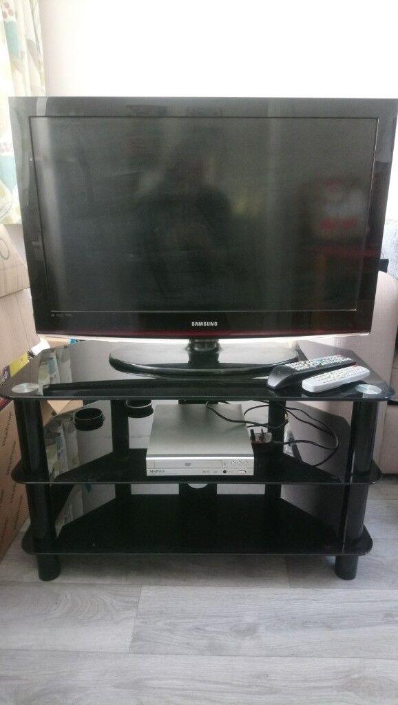 32 Inch Samsung Tv, Tv Cabinet U0026 Dvd Player